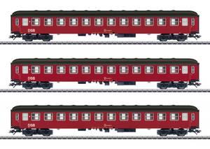 Bilde av DSB passasjervognsett, 3