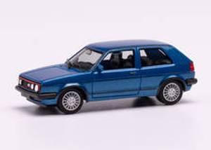 Bilde av VW Golf 2, GTI, blå