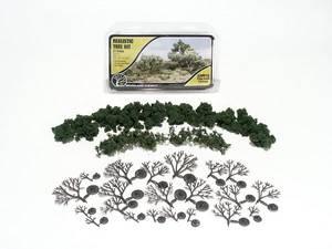 Bilde av Løvtrær 21 stk byggesett
